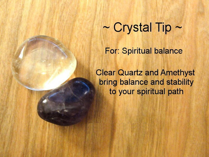 Crystals for Spiritual Balance