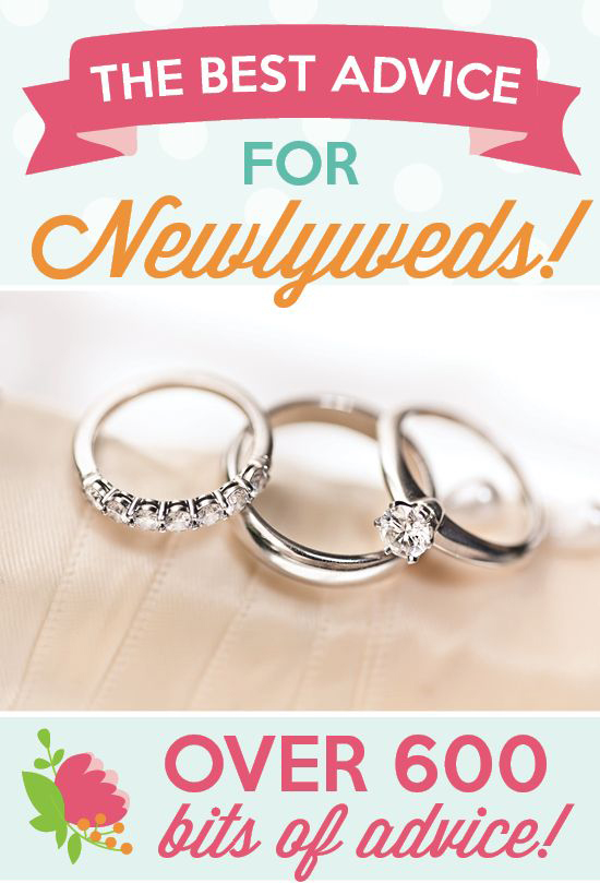The Best Advice For Newlyweds