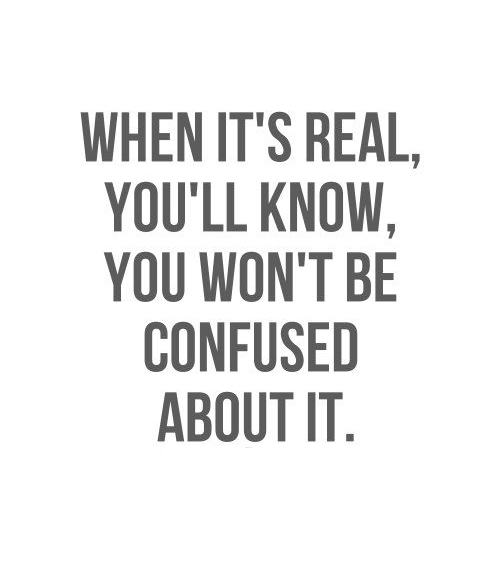 A Heart Knows When It's Real