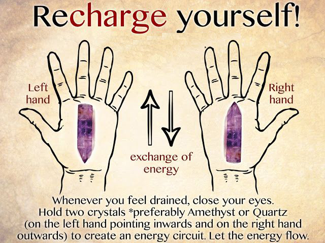 Amethyst Can Take Away Your Exhaustion