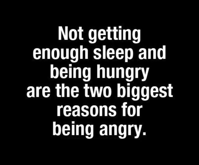 Sleep and Eat, Dont Be Angry