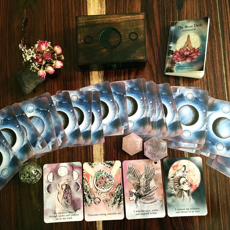 The tarot is an outer oracle of which the inner oracle is the source