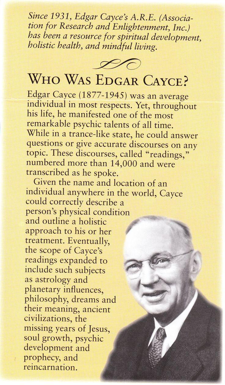Do You Know Edgar Cayce?