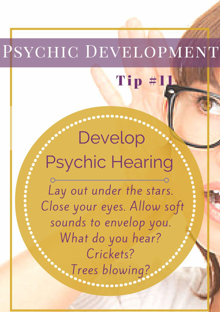 Ones Solemness for Developing Psychic Ability