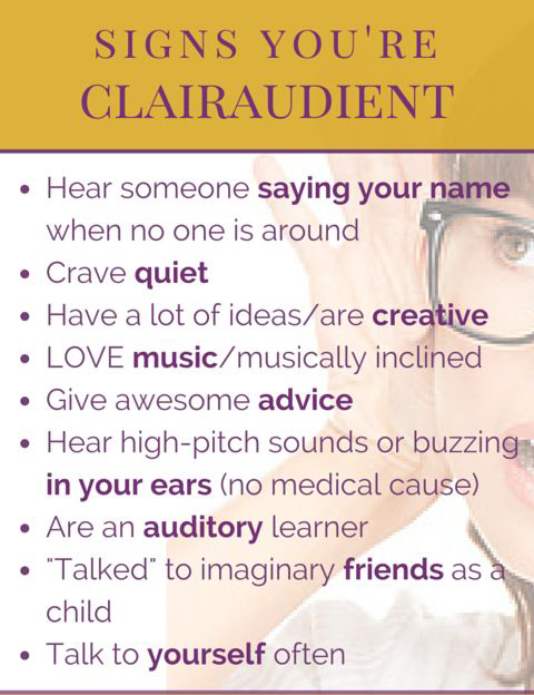 Signs You're A Clairaudient