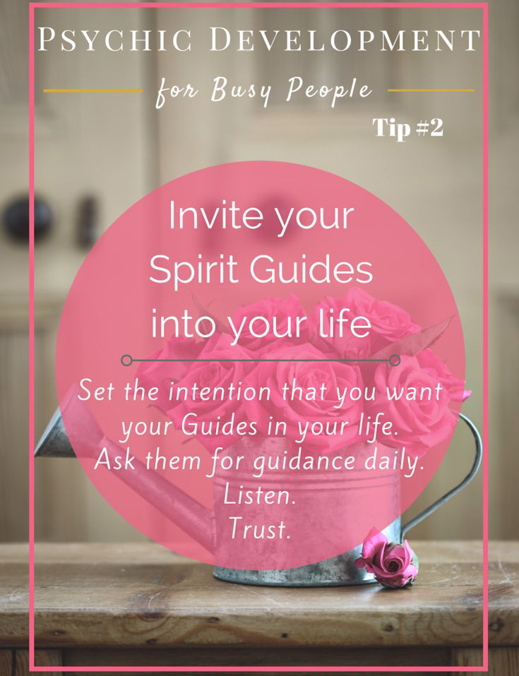 Welcome The Spirits to Guide Your Life